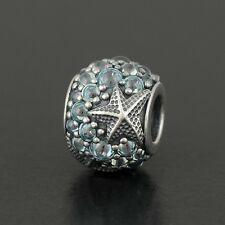 New Authentic Pandora Oceanic Starfish Charm No.791905CZF