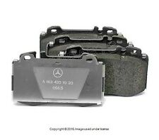 Mercedes W163 ML430 ML500 ML55 GENUINE Front Brake Pad Set 1634201020
