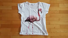 * Damen T-Shirt ONLY Love Collection Größe:M  Farbe:weiß Flamingo