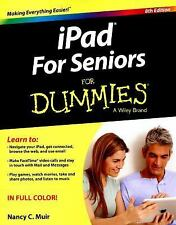 IPad for Seniors for Dummies by Nancy C. Muir (2015, Paperback)