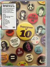 SUPERGRASS IS 10 THE BEST OF 94 - 04 2 x DVD SET + POSTER RARE NM