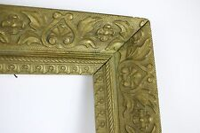 Antique GOLD Gilt Gesso+Wood FANCY Frame 24 x 19 Out 20 x15 In 4 Art Picture Old