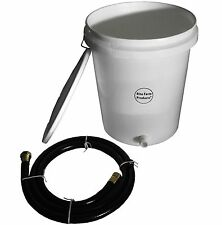 5 GALLON GRAVITY WATER SUPPLY/RESERVE KIT FOR AUTOMATIC WATERER CHICKEN POULTRY