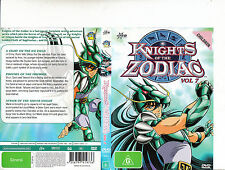 Knights of The Zodiac:Vol 7-1986/9-TV Series Japan-[3 Episodes In English]-DVD