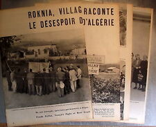 Document Roknia , village à vendre, Algérie, cafe de l'Avenir photos  , clipping