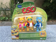 "Brand New Disney Special Agent OSO DOTTY WOLFIE 3PCS 3"" Action Figure"