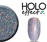 Holographic Glitter for Nail Art Acrylic Gel Soak off Hybrid Manicure 5g