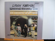 LARRY NORMAN Something New Under The Son SOLID ROCK VINYL LP Free UK Post