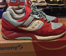 Saucony Pick Your Shoes X BAIT Collab Blue Apple Size 11 Sneakers Shadow 6000