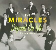 MINT SEALED OUT OF PRINT HIP-O SELECT THE MIRACLES DEPEND ON ME THE EARLY ALBUMS