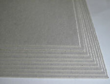 10 x A5 Greyboard Craft Card 2000mic 2mm Grey Board