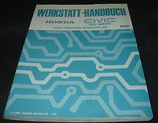 Werkstatthandbuch Elektrik Honda Civic Shuttle / Wagon Schaltpläne ab 1988!
