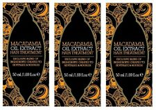 3x 50ml Macadamia Natural Oil Extract Hair Treatment Oil - Exclusive Ingredients