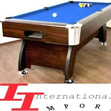LUXE BILLARD AMERICAIN 250cm! 1290€ Pro NEUF table de pool Snooker biljart salon