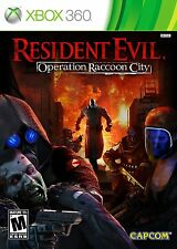 Resident Evil: Operation Raccoon City  (Xbox 360, 2012)