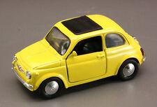 NewRay FIAT 500 F / 500F amarillo Modelo / Año fabricación 1957, 1:32