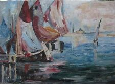 Marina - W.Kowal  - oil painting