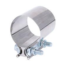 "Universal Exhaust Round Band Hanger 6/"" Stainless Steel Adjustable Bracket Bomb"