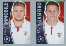 277 CIRO IMMOBILE KEVIN GAMEIRO  SEVILLA FC STICKER CHAMPIONS LEAGUE 2016 TOPPS