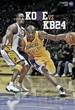 "278 NBA Super Stars - KB Vs KB Kobe Bryant Basketball MVP 24""x35"" Poster"