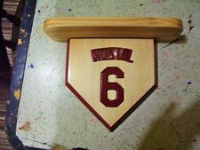Mets Personalized home plate shelf Any Team / Player Bobble heads
