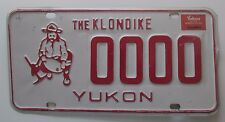 Yukon 1985 SAMPLE License Plate NICE QUALITY # 0000