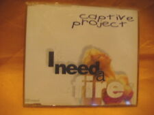 MAXI Single CD CAPTIVE PROJECT I Need A Fire 5TR 1995 eurodance