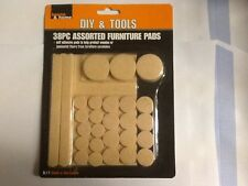 38pc assorted self adhesive furniture pads