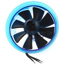EDF Electric Ducted Fan 3900KV Brushless Motor 8 Blade 70mm for RC Helicopter