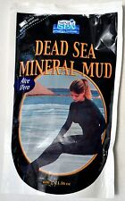 AUTHENTIC DEAD SEA MUD 100% NATURAL 600g 21oz Mask Anti Aging Acne Face Body Spa