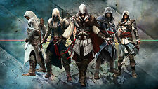 Assassins Creed - Large 20x32 inches Gaming Console Wall Art Canvas