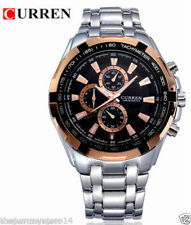Branded Curren Very Shiny Stainless Steel Business Class Men's Watch With Box