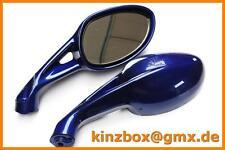 2x Scooter Specchio 903 Blu E-Max 110s e7
