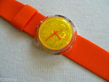 1997 Pop Swatch Watch Feathers New PMZ105 Never worn