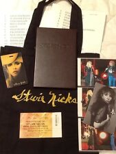 Stevie Nicks 24K Gold Tour VIP Merchandise Tote Bag Ticket Book Postcard setlist