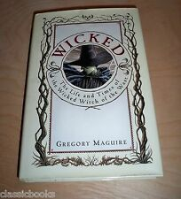 GREGORY MAGUIRE WICKED TRUE FIRST EDITION