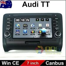 7 inch Car DVD GPS Navigation Stereo Head Unit For AUDI  TT 2006-2014 Dashboard