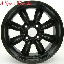 15X7 ROTA RB WHEELS 4X100 RIM FLAT BLACK BMW 2002 E21