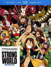One Piece: Strong World (Blu-ray/DVD, 2013, 2-Disc Set)