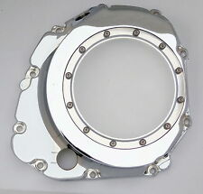 Suzuki Gsxr Chrome Custom Billet Clear See Thru Clutch Cover 600,750,1000 L@@K