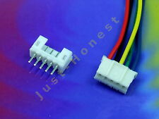 KIT BUCHSENLEISTE+STECKER 5 polig / pins  HEADER 2mm + Male Connector PCB #A553