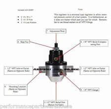 FASS FUEL SYSTEMS PRESSURE REGULATOR - DODGE FORD CHEVY