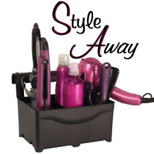 Easter Gift Idea - Bathroom Organizer/Holder for Hair Beauty Products -Black