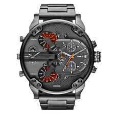 Herren Armbanduhr Edelstahl Uhren Sport Analog Quartz Uhr Luxus