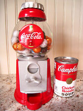 Coca Cola Coke Candy/Gumball Machine Metal/Glass EUC