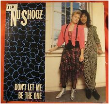 Nu Shooz, Don't let me be the one, G+/VG  EP (3387)