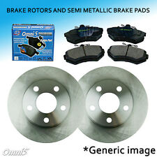 FK0004 Fit 2000 Toyota Echo 1.5L Front Left + Right Brake Rotors & Pads Set