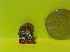 Vintage Authentic Marked Yu Gi Oh Card Player, Small Enameled Lapel Pin