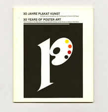 1983 Armin Hofmann 30 YEARS OF POSTER ART at the School of Design AGS Basle cat.
