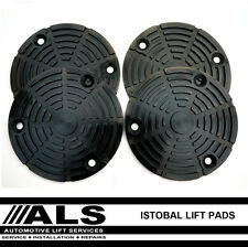 Istobal 2 Two Post Lift Rubber Pads x 4 Car Vehicle Ramp Hoist spares parts